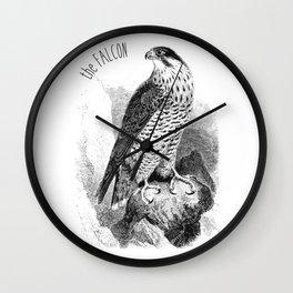 The Peregrine Falcon Wall Clock