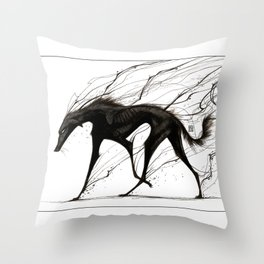 Raising Shadows Throw Pillow