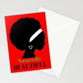 naturally beautiful Stationery Cards
