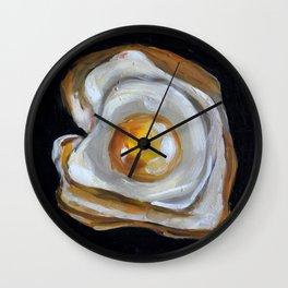 Food, eggs, breakfast, omelette Wall Clock