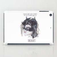 catwoman iPad Cases featuring catwoman by SOB
