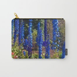 Delphinium Garden Carry-All Pouch