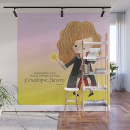 Friendship and bravery Wall Mural