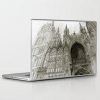 takmaj Laptop & iPad Skins featuring Rouen facade by takmaj