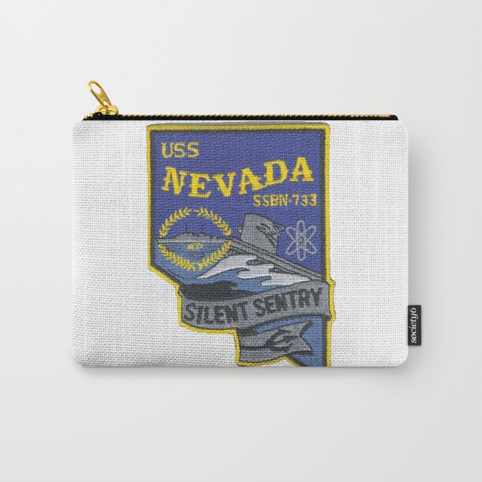USS NEVADA (SSBN-733) PATCH Carry-All Pouch