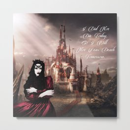 Queen Of Hearts colleen Metal Print
