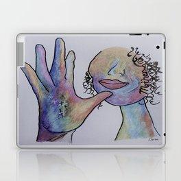ASL Mother in Denim Colors Laptop & iPad Skin