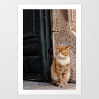 Waiting Patiently Art Print