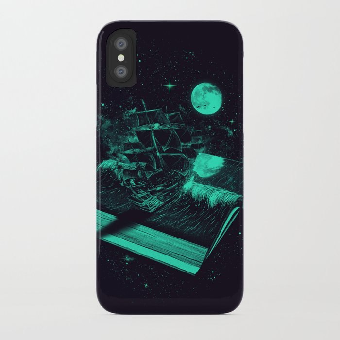 Crossing the Rough Sea of Knowledge   iPhone Case