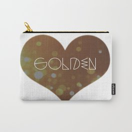 Golden. Carry-All Pouch