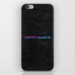 Synthwave Aesthetic iPhone Skin
