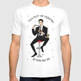 Special Agent Dale Cooper ~ RR Diner T-shirt