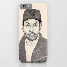 Denzel Washington Portrait iPhone 6s Slim Case