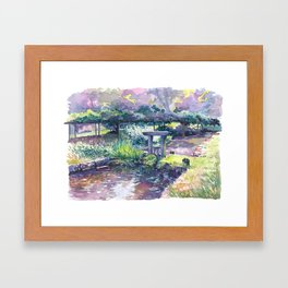 Korakuen #02 Framed Art Print