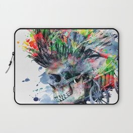 COLORFUL SKULL Laptop Sleeve
