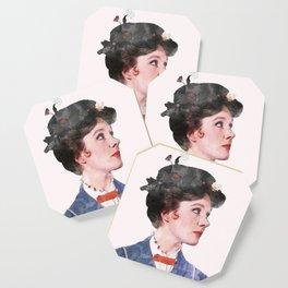 Mary Poppins - Watercolor Coaster