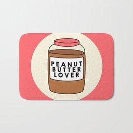 Peanut Butter Lover Bath Mat