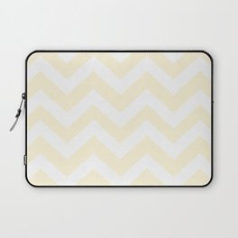 Cornsilk - pink color -  Zigzag Chevron Pattern Laptop Sleeve