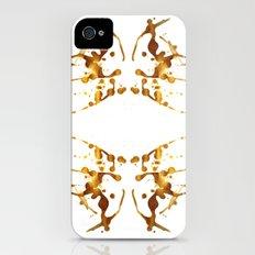 Symmetria Gold 1 iPhone (4, 4s) Slim Case