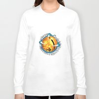 skyfall Long Sleeve T-shirts featuring Skyfall Dragon's Eye by Pr0l0gue