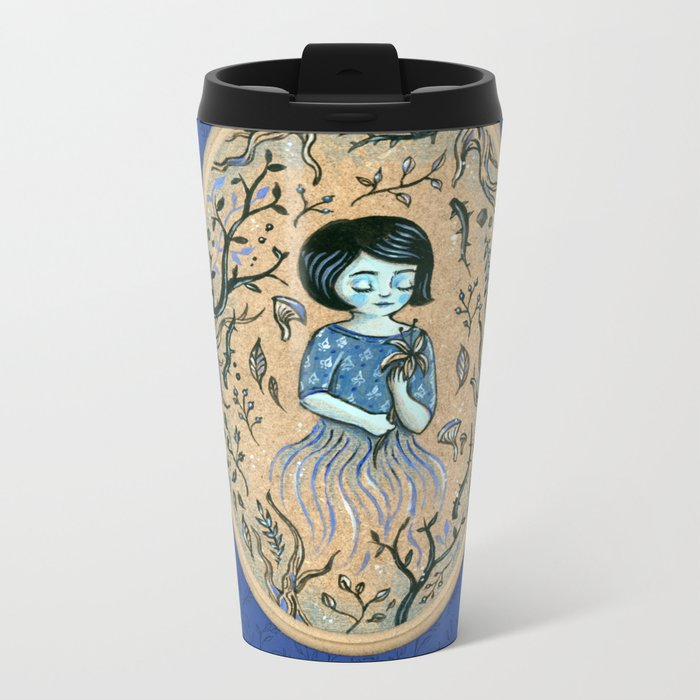 Hidden place - forest girl 2 Travel Mug