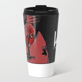Kruz'n Geisha Metal Travel Mug