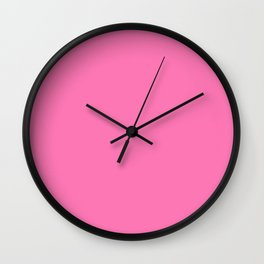 That Pink Wall Clock