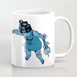 Lancé de méduses Coffee Mug
