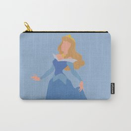 Sleeping Beauty - Blue Carry-All Pouch