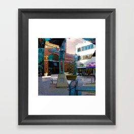 Fractured Framed Art Print
