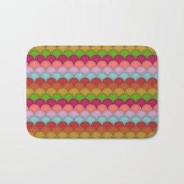 Rainbow Unicorn Scales Bath Mat