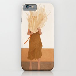 Dried Leaf iPhone Case