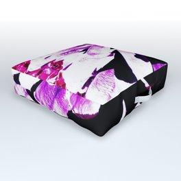 Purple Pinecone Outdoor Floor Cushion