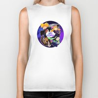 hey arnold Biker Tanks featuring Hey Arnold Halloween by Veronica Campbell