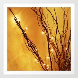 Twiglets Art Print