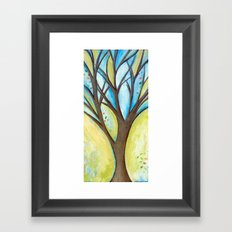 Spreading my branches Framed Art Print