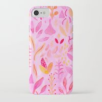 flora iPhone & iPod Cases featuring Flora by messy bed studio
