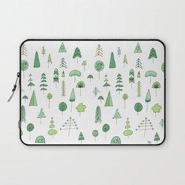Green Trees Laptop Sleeve