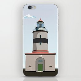 The lighthouse of Falsterbo iPhone Skin