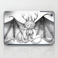 fez iPad Cases featuring MonoChro-Monster by Bili Kribbs