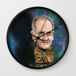 Francesco Guidolin Caricature Wall Clock