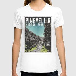 Iceland: Pingvellir T-shirt