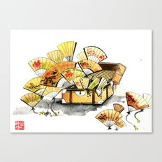 CHINESE FANFARE Canvas Print
