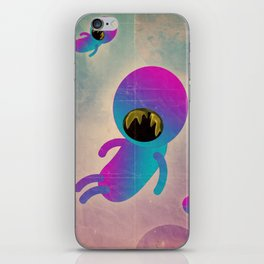 bimbo cosmico iPhone Skin