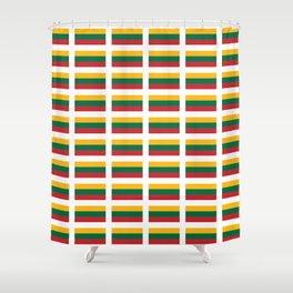 Flag of Lithuania – Lietuva,Lithuanian,Lietuvos,vilnius,kaunas,baltic,viking. Shower Curtain