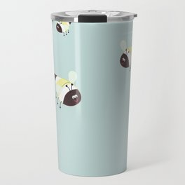 Buzzing bees in the air! Travel Mug