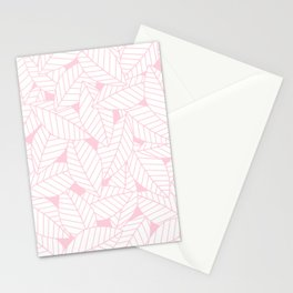 Leaves in Rose Stationery Cards