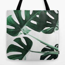 Monstera, Leaves, Plant, Green, Scandinavian, Minimal, Modern, Wall art Tote Bag