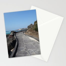 A walk in Jeju Stationery Cards