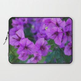 Bougainville in purple Laptop Sleeve